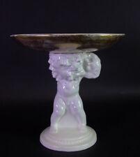 figürliche Aufsatzschale mit Traubenputto - Michael Powolny Wiener Keramik
