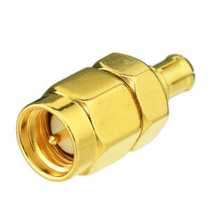 SMA Male to MCX Male Coaxial Connector Adapter Antenna Pigtail Cable Converter
