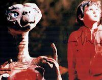 HENRY THOMAS Signed Extra Terrestrial 11x14 E.T. Photo Autograph JSA COA