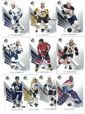 2017-18 SP AUTHENTIC COMPLETE CARD SET 1-100 McDAVID MATTHEWS CROSBY GRETZKY NEW