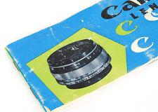 Catálogo De Lentes Canon telémetro - 1950s/60s -! Excelente!
