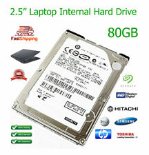 """80GB 2.5"""" Laptop Replacement / Upgrade SATA Hard Drive for Dell Latitude D630"""