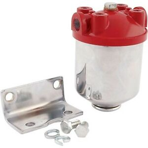 allstar performance  Canister-type fuel filter flows up to 90 gallons per hour