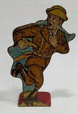Vintage 1930s MAR - MARX Lithograph Tin Soldier Infantry First Lieutenant #20