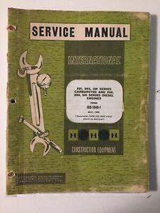 IH International 221/236/263/282/301 Engine Service Manual TD6 TD9 Hough 50C 60B