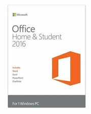 Microsoft Office Home & Student 2016 (Retail) (1) - Full Version for Windows...