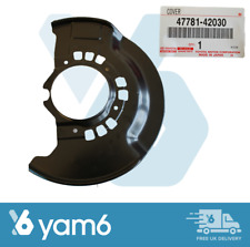 Genuine Toyota RAV-4 00-05 Trasero Rh Freno De Estacionamiento placa cubierta de polvo 46503-42021