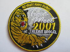 TIGER MEET 2001 - KLEINE BROGEL- Embroidered Iron or Sew On Patch - P113