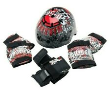 Skate Helmet and Protection Pads Combo SET Kids Safety Gear