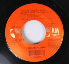 90'S/Rock 45 Bryan Adams - The Only Thing That Looks Good On Me Is You / Hey Elv