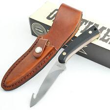 Schrade Old Timer Delrin Handle Gut Hook Skinner Fixed Blade Knife 158OT