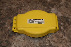 EMED Co., Inc No. AGV3 valve lockout tagout cover