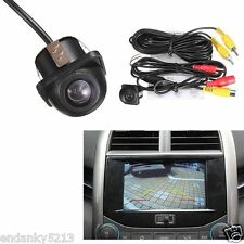 Car Rear View Mirror 170° Wide-angle View CMOS Backup Parking Hole Camera