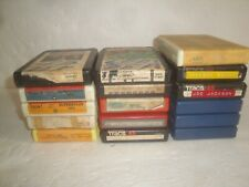 8 TRACK TAPE LOT 16 TAPES LED ZEPPELIN BEATLES RADIO WAAF RECORDED PRERECORDED