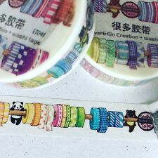 WASHI TAPE EVER&EIN CREATION WASHI WASHI ET041 15MM X 10MT PLAN CRAFT WRAP SCRAP
