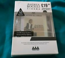 Andrea Bocelli - Cinema - Access all areas, Cd Deluxe Limited New And Sealed