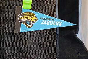 "JACKSONVILLE JAGUARS NFL MINI PENNANT 4"" X 8.75"" - NEW MINT"