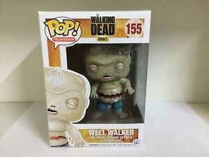 FUNKO POP! TELEVISION - THE WALKING DEAD #155 WELL WALKER - VAULTED RARE