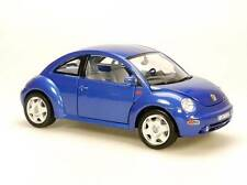 Burago 1998 Volkswagen New Beetle Blue (Die-cast 1:18 Scale)