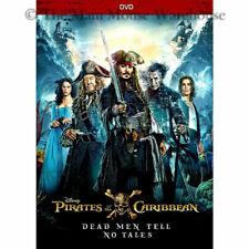 Pirates of the Caribbean: Dead Men Tell No Tales (DVD, 2017/Digital Copy)