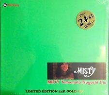 IMPEX TBM GOLD CD IMP8309: TSUYOSHI YAMAMOTO TRIO - Misty - 2015 SEALED