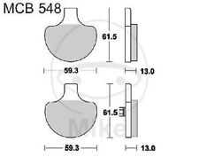 TRW Lucas Pastiglie mcb548 ANTERIORE HARLEY DAVIDSON FLH 1340 Electra Glide belt D