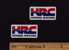 "Small 1.5"" HRC HONDA RACING STICKER Vintage Motocross Superbike MotoGP Decal"