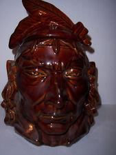 GEORGE WILLIAMS 1990 McCOY PONTIAC INDIAN COOKIE JAR