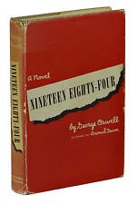 Nineteen Eighty Four ~ GEORGE ORWELL ~ First US Edition 1st Printing 1949 ~ 1984