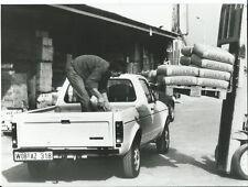 VW Volkswagen Caddy Pick Up Phoenix Cement Original Italian Press Photograph