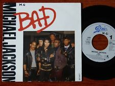 45T SP MICHAEL JACKSON - BAD - 1987 - EPC 651100 7