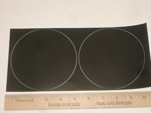 """PROCOMM 5.0PAD 2PC 5"""" PROTECTIVE PLASTIC BASE FOR MAGNETIC MAGNET ANTENNA MOUNT"""
