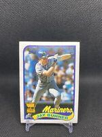 1989 TOPPS Baseball Jay Buhner #223 Mariners-PWE