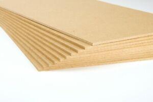 MDF Platten Holzplatte Hartfaserplatte: Bau- Bastelarbeit 3mm 20x30 cm
