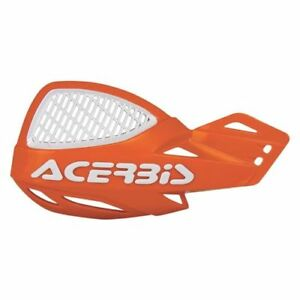 ACERBIS MX Uniko Ventilado Paramanos Naranja / Blanco SX Sxf Motocross Universal