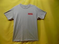 """NRA T-SHIRT """"MAJOR ACCURACY"""" NATIONAL RIFLE ASSOCIATION GUN OWNERS TEE (MED)"""