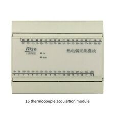 16-Way Data Acquisition Module System K Thermocouple Temperature Transmitter NEW