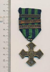 Romanian medal Romania order WWI Inter ALLIED Commemorative Cross 3 clasp bars R