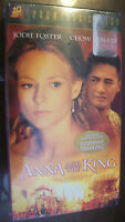 Anna and the King (VHS, 2000, Premiere Series) BRAND NEW, SEALED, JODIE FOSTER