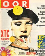 MAGAZINE OOR 1990 nr. 02 - BOEGIES / GIPSY KINGS / HOUSE + XTC / BILLY JOEL