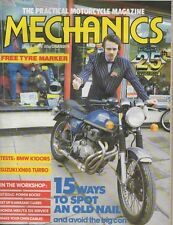 Mech Apr 84 BMW K100RS Suzuki XN85 Turbo Honda ATC Yamaha YT YTM 400-4 Turbo