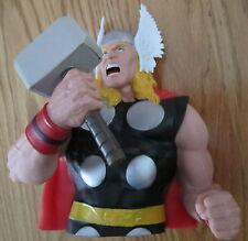 The Avengers Thor Bust Bank Marvel Comics Bust Piggy Bank NEW