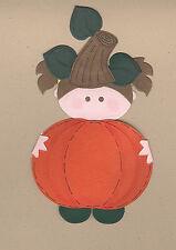 Your choice of Finished Little Pumpkin Girls - Die Cut Kids - Die Cuts - AccuCut