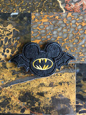 """1 Bat Mickey Mouse Halloween Iron On Sew On Patch 1.75""""L x 3.5""""W Same Day Ship"""