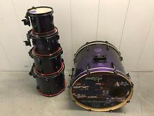 Pearl Export ELX  5pc Drum Set kit PURPLE FADE Finish