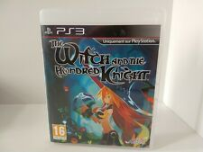 The Witch And The Hundred Knight PS3 Playstation 3 Exclusive French Case.