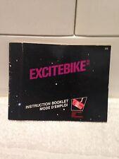 Excitebike Notice ( Nintendo Nes )