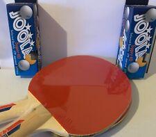 Top 2 Tischtennisschläger Joola Rossi +  6 x  3 Sterne *** Bälle +++++++++