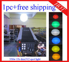 1pc Wedding Stage Follow Spot Light 350W 17R With DMX Free Shipping
