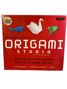 Origami Studio Michael Lafosse's 30 Step By Step Lessons Paper Crafting Art Kit